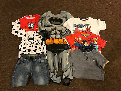 Boys Clothes Bundle 4-5yrs T Shirts / Tops/ Jumper/jeans