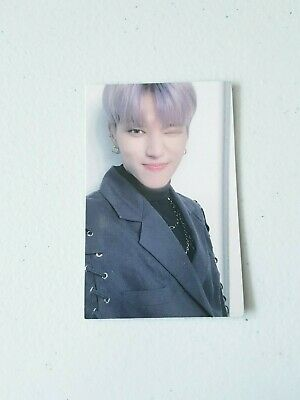 """K-POP ATEEZ """"TREASURE EPILOGUE : Action To Answer"""" OFFICIAL WOOYOUNG PHOTOCARD"""