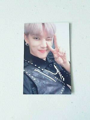 "K-POP ATEEZ ""TREASURE EPILOGUE : Action To Answer"" OFFICIAL WOOYOUNG PHOTOCARD"