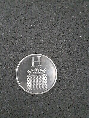A - Z Alphabet 10p Coin Hunt 2019 Letter H HOUSES OF PARLIAMENT