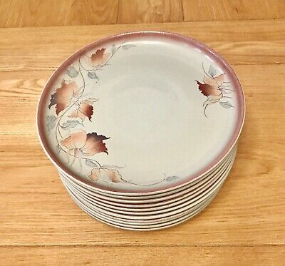 VINTAGE DENBY TWILIGHT MEDIUM SALAD PLATE 8 ¼ INCHES - 11 plates available