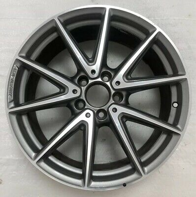 "Mercedes-Benz A45 Cla45 176 Chassis 18"" Gloss Grey & Diamond Cut Amg Alloy-8St"