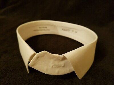 4 Mens Formal Shirt Collars - Size 15 - Albany Style