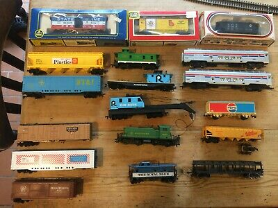 Joblot Lima, AHM, Life Like Trains etc HO North American Rolling stock