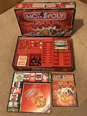 Waddingtons Monopoly Manchester United Edition Board Game 2000/2001 edition
