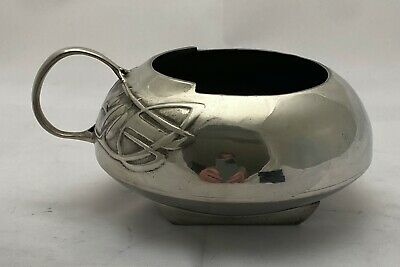 superb liberty & co tudric art nouveau pewter sugar bowl archibald knox 0231