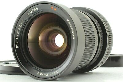 [N Mint] Contax Carl Zeiss PC Distagon 35mm f/2.8 AEG Shift Lens from japan #665