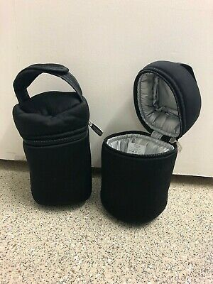 Tommee Tippee Closer to Nature Insulated Travel Bottle Carriers Warmer Bags x2