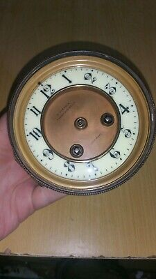 Antique  French clock movement by Paris maker striking French clock movement