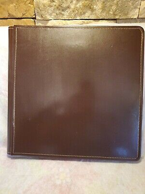 Creative Memories Brown leather 12 by 12 album