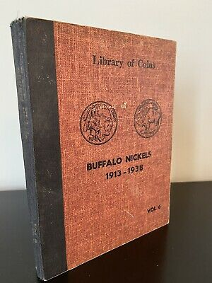Lot of  36 Buffalo Nickels & V Liberty Nickels with Library of Coins Vol. 6 Book
