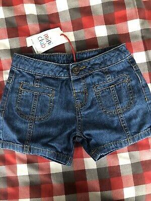 Girls Denim Shorts 3-4 Years Brand New With Tags From Boots Miniclub