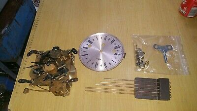 Vintage HERMLE 340-020 movement Mantel clock