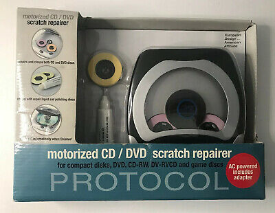 CD/DVD/Game Discs Scratch Repairer By Protocol #5552 NIB