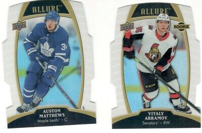 2019-20 Ud Upper Deck Allure White Rainbow You Pick Free Combined Shipping