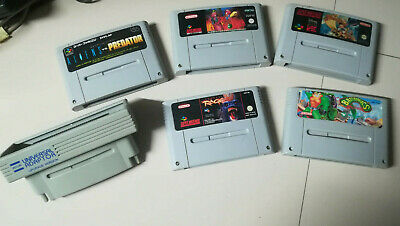 Super Nintendo SNES Universal Adaptor Upgrade Version AD29 + Lotto giochi