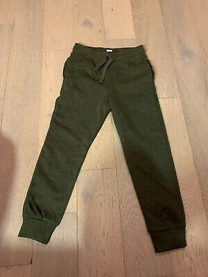 Girls Green Jogging Bottoms Age 6-7 H&M Never Worn