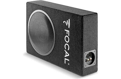 """Focal PSB200 Sealed enclosure with one 8"""" shallow-mount subwoofer."""