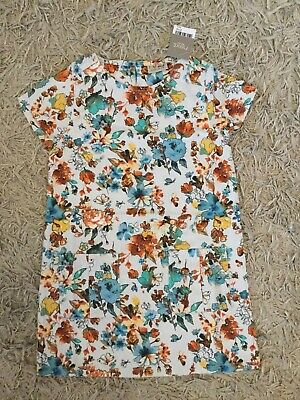 New Girls Next Floral Pocket Dress age 6 Years BNWT