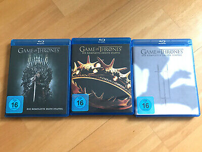 Game of Thrones / Staffel 1 + 2 + 3 / Blue Ray