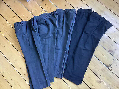 5 X Batch Of Boys Grey school trousers. Marks and Spencer. Age 7-8