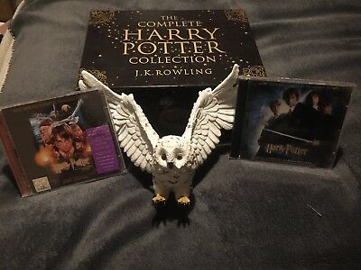 HARRY POTTER COMPLETE COLLECTION RARE BOX SET 7 BOOKS + More. J K ROWLING Gift