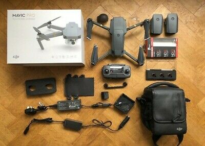 DJI Mavic Pro Fly More Combo. 4K Camera Drone with extras - Absolutely Mint.