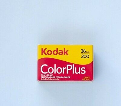 1 x rolls KODAK COLORPLUS 200 35mm Film 36exp