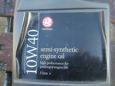 Vauxhall  Genuine Gm 10W40 10 40 Engine Motor Oil 5L Semi Synthetic Engine Oil