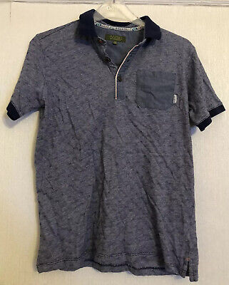 Ted Baker Blue Boys T-Shirt Top Size 11-12 Years