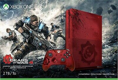 Limited Gears of War Xbox One S 2TB Console With Controller!!