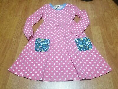 Matilda Jane Make Believe Collecting Leaves Dress, EUC Size 6