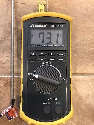 Omega Engineering Calibrator-Thermometer CL3512A