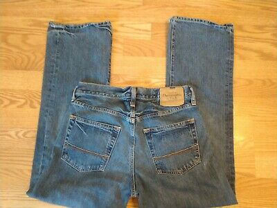 Abercrombie & Fitch Kilburn Low Rise Boot Jeans Men's 30 X 30 Button Fly Casual