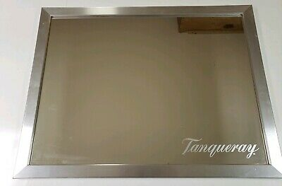 Tanqueray Dry Distilled English Gin Framed Mirror 26x20 Vodka Liquor