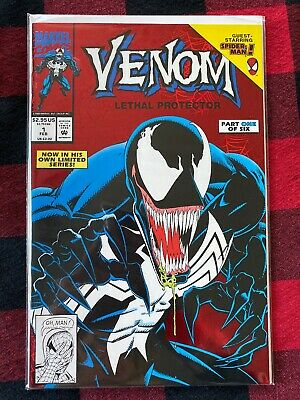 Venom Lethal Protector #1 First Venom Solo Book Nm-
