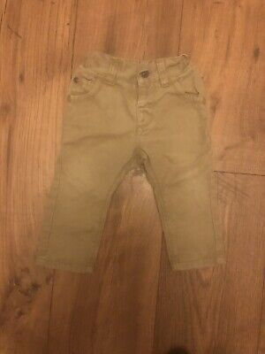 NEXT Baby Boys Chino Trousers Brown Beige  3-6 Months 🚗🚗