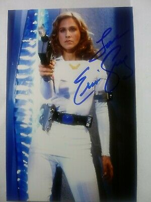 ERIN GRAY Authentic Hand Signed Autograph  4X6 Photo -SEXY BUCK ROGERS ACTRESS !