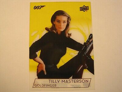 2019 Upper Deck James Bond 007 Gold Acetate Card Tania Mallet as Tilly Masterson