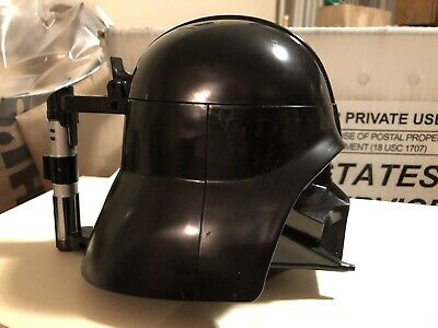 Disney Parks Star Wars Darth Vader Helmet Mug Stein Sipper Light Saber Handle