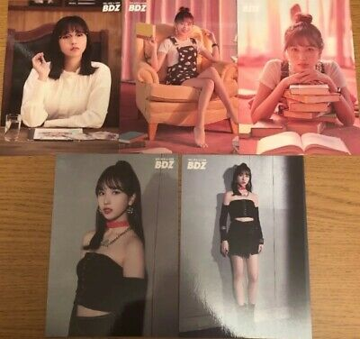 TWICE JPN 1st ALBUM BDZ Release event Limited Official Photocard MINA All 5 sets