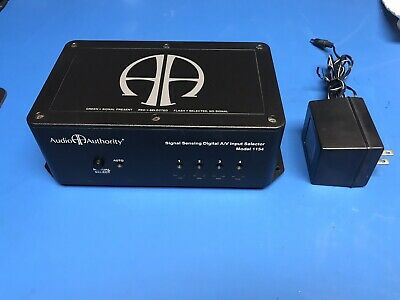 Audio Authority Digital Power Supply Pre Owned Model 1154