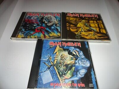 Iron Maiden CD lot  Peace of Mind Number Beast Prayer Dying
