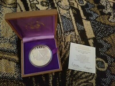 Singapore 10 Dollars 1978 Silver Proof - in Presentation Box with COA