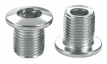 Sugino Chainring Chain Ring Bolt 12.5mm Chrome Plated Set of 5