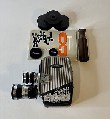 Yashica T-8 Movie Camera With Manual