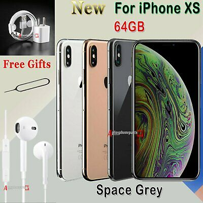 NEW Unlocked Apple iPhone XS 64 256 512 GB Smartphone SIM Free All Colours UK