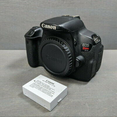 Canon EOS Rebel T5i 18.0MP Digital SLR Camera-Black (Body Only) - Focus Issue