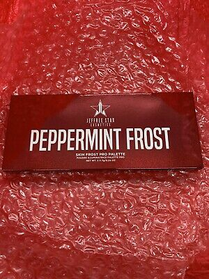Jeffree Star Peppermint Frost Highlighter Palette Limited Edition Discontinued