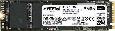 Crucial P1 1TB, Internal (CT1000P1SSD8) Solid State Drive